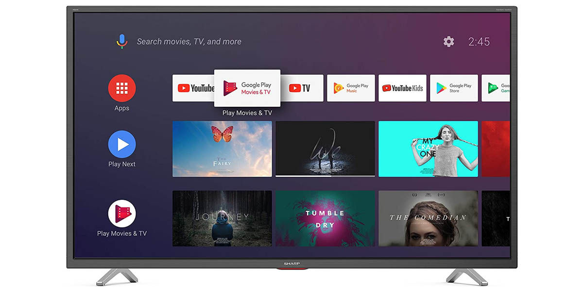 Sharp 40BL5EA smart tv android tv 40 pulgadas