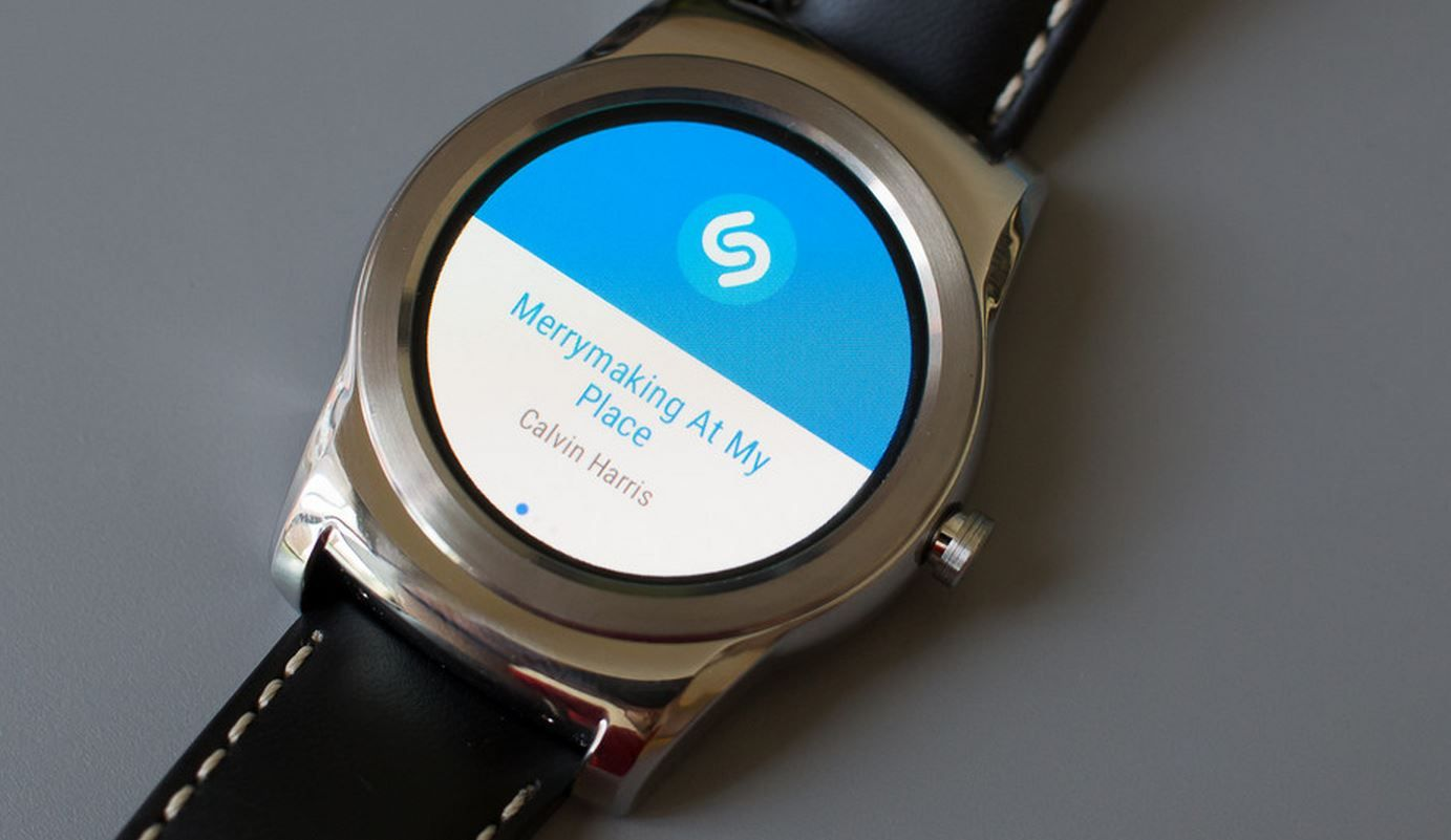 Shazam en Android LG Watch Urbane