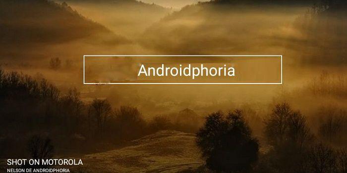 Shot On app colocar marca de agua a Android