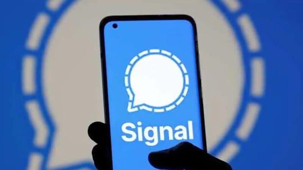 Signal codigo de verificacion SMS