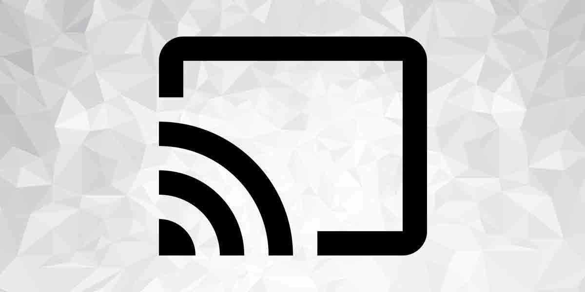 Símbolo Chromecast ver TDT