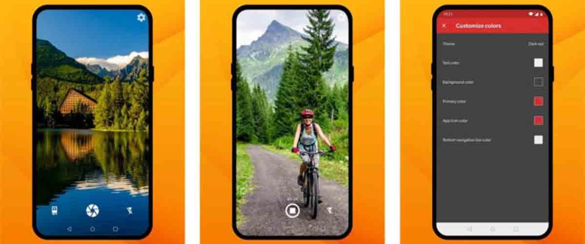 Simple Camera app cámara Xiaomi