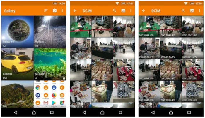 Simple Gallery para Android