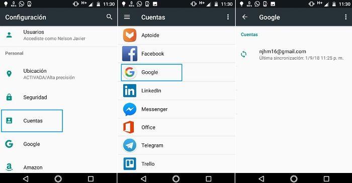 Sincronizar marcadores Google Chrome en Android