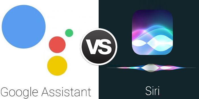 Siri vs Google Assistant cuál es mejor