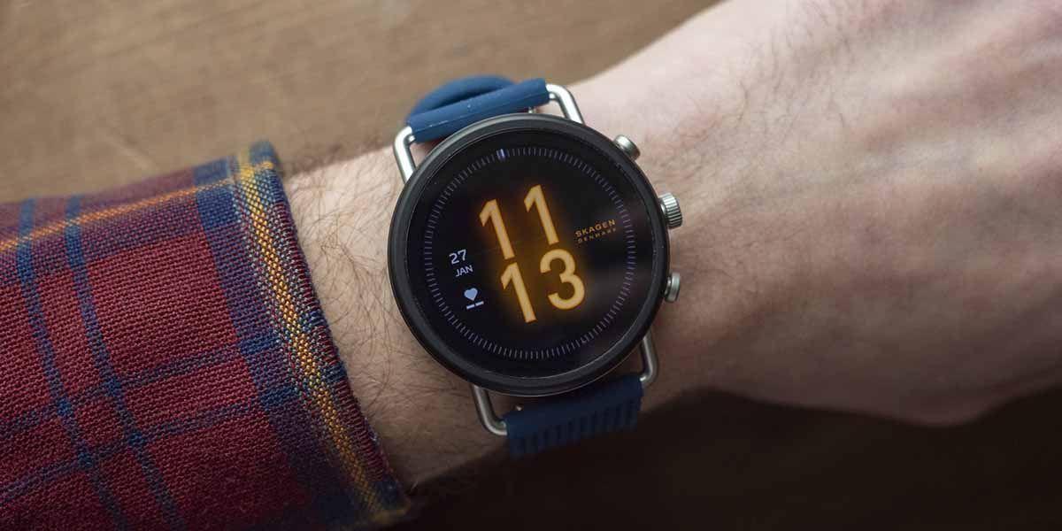 Skagen Falster 3 un reloj inteligente que combina el diseño moderno y tecnológico con la elegancia