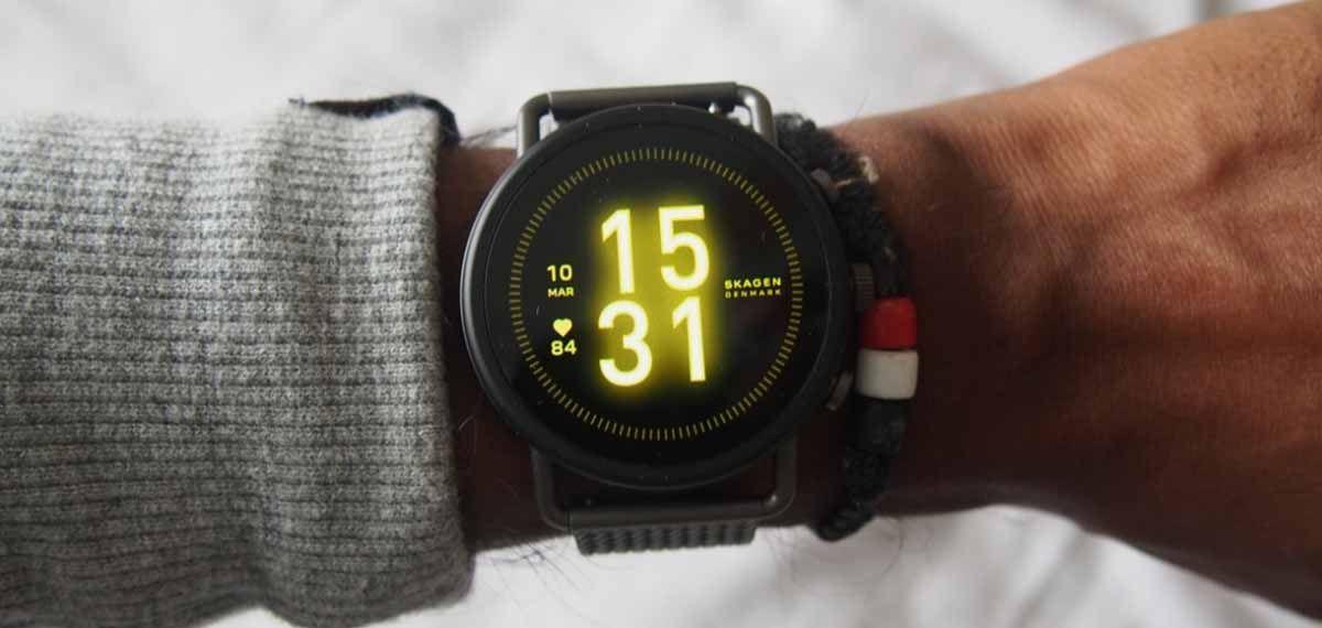 Skagen Falster 3 un smartwatch elegante y moderno con Wear OS