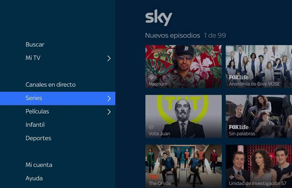 Sky para Android