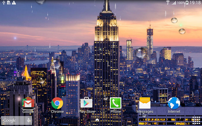 Skyline Live Wallpaper para Android