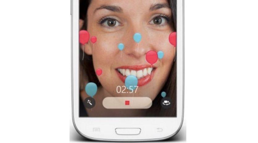 Skype añade filtros para mensajes de vídeo