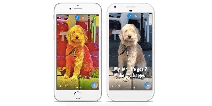 Skype tambien copia a Snapchat con efectos para fotos