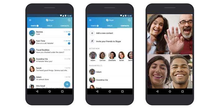 Skype funcionará mejor móviles viejos Android