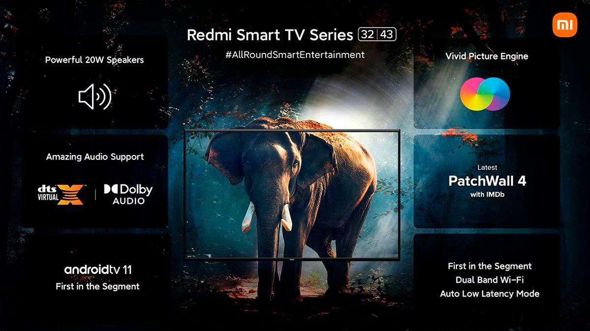 Smart TV Redmi caracteristicas