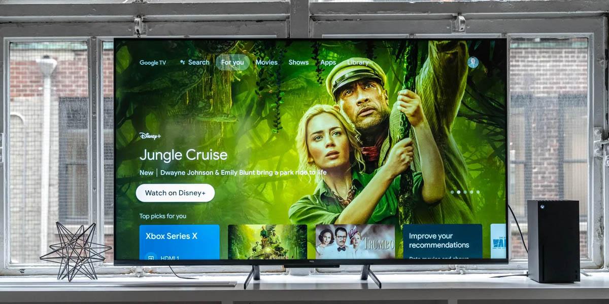Smart TV TCL serie 5 Google TV