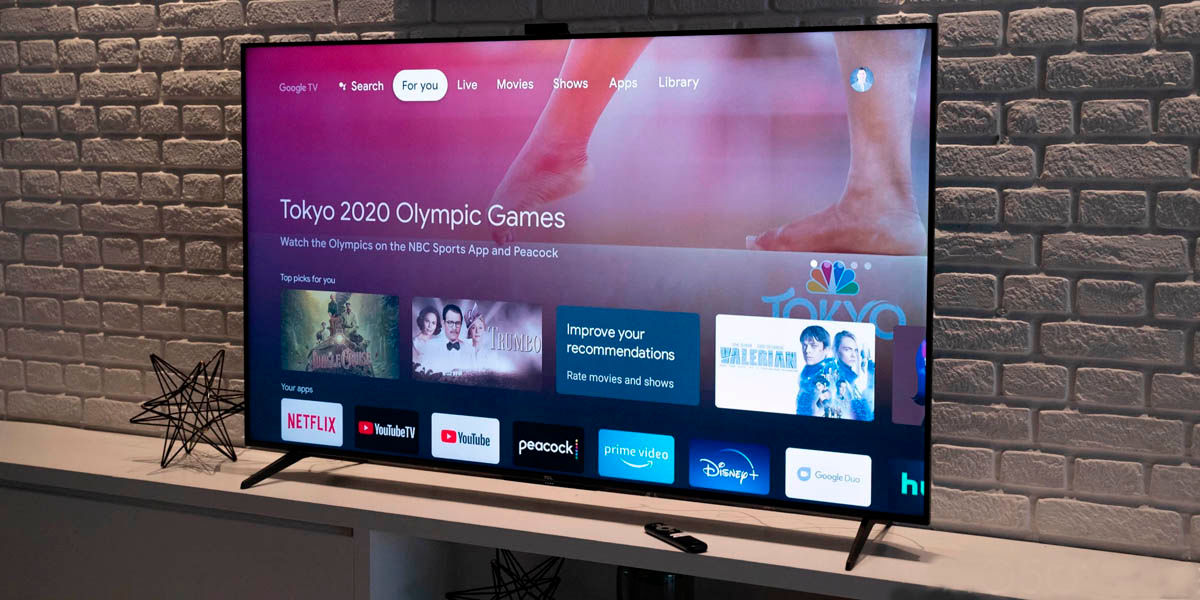 Smart TV TCL serie 6 Android TV