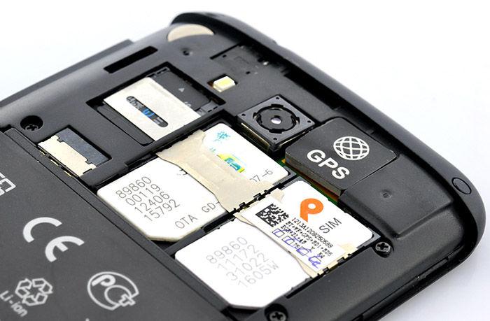 Smartphone Dual SIM tarjetas