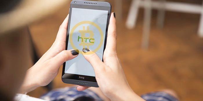 Smartphone HTC para criptomonedas
