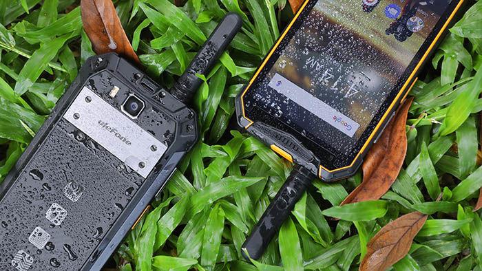 Smartphone con Walkie talkie