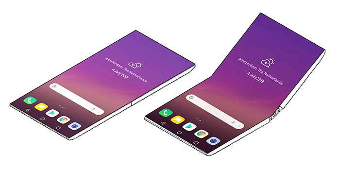 Smartphone plegable LG