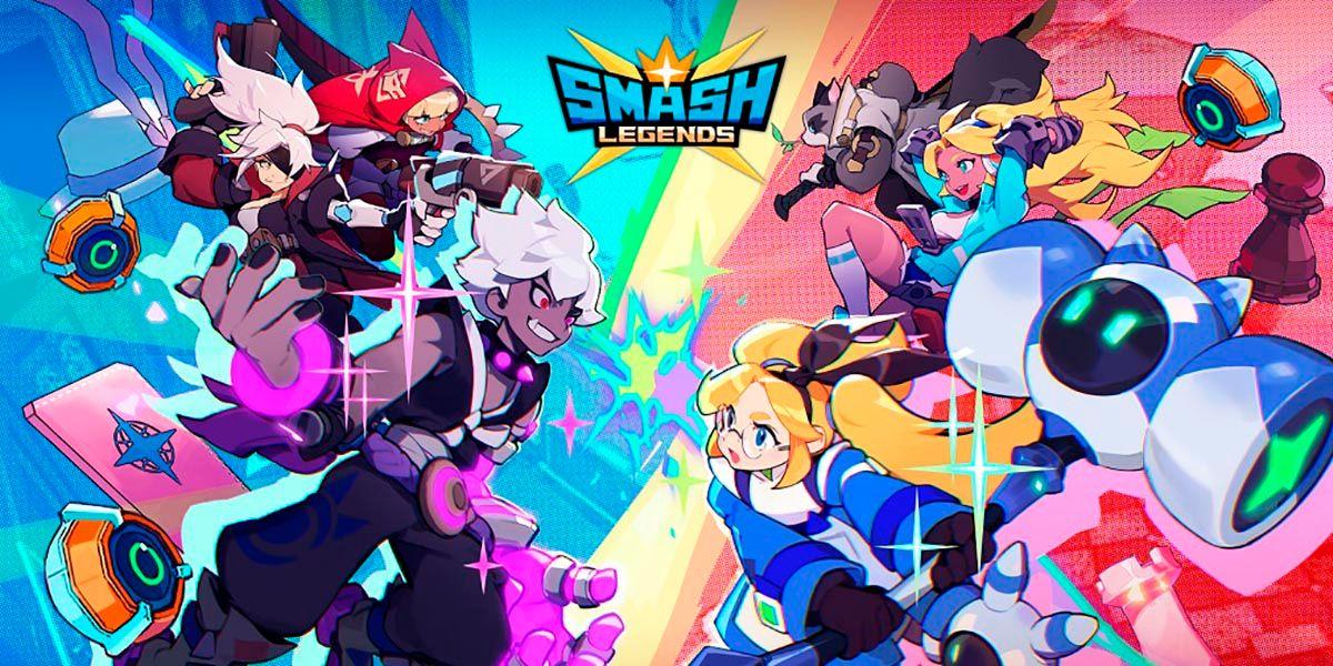 Smash Legends alternativa a Brawl Stars para Android