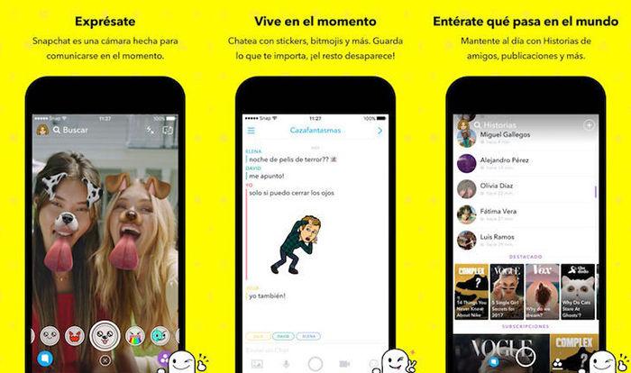 Snapchat Google Play