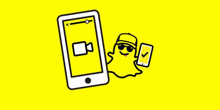 Snapchat agrega videollamadas y menciones