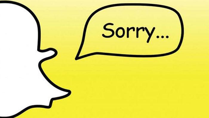 Snapchat caido