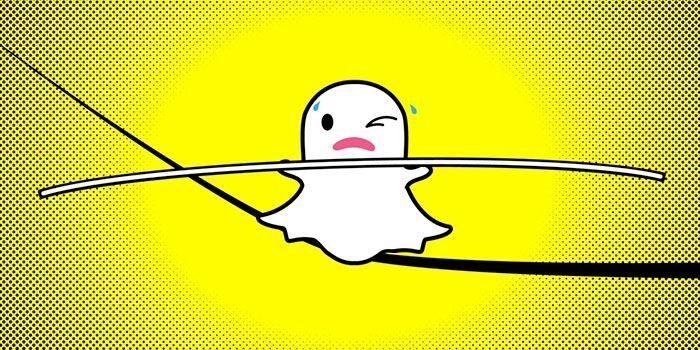 Snapchat cuerda floja