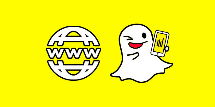 Snapchat historias web