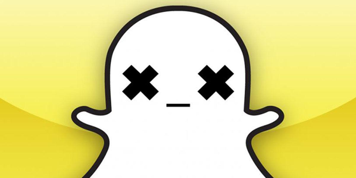 Snapchat no funciona