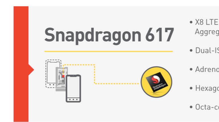 Snapdragon 617 y 430 son oficiales y estas son sus características