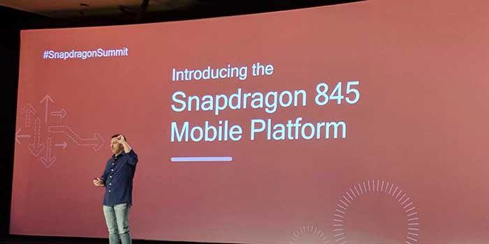 Snapdragon 845 oficial