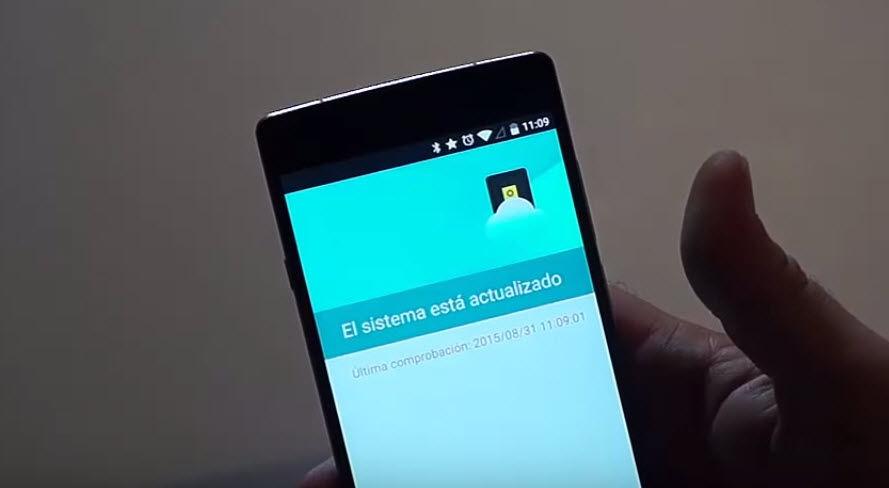 Solución Problemas al instalar la actualización vía OTA en el OnePlus 2-2