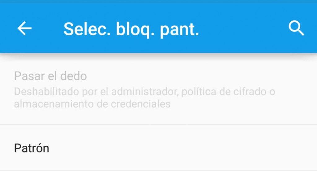 Solución desbloqueo deslizar desactivado por el administrador1