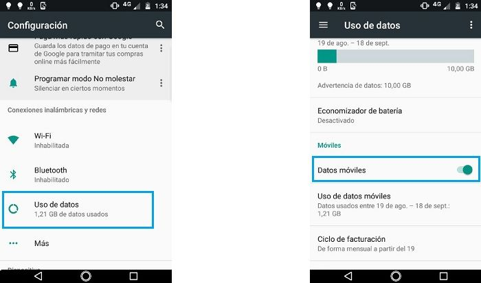 Solución a que WhatsApp funcione solo con Wi-Fi