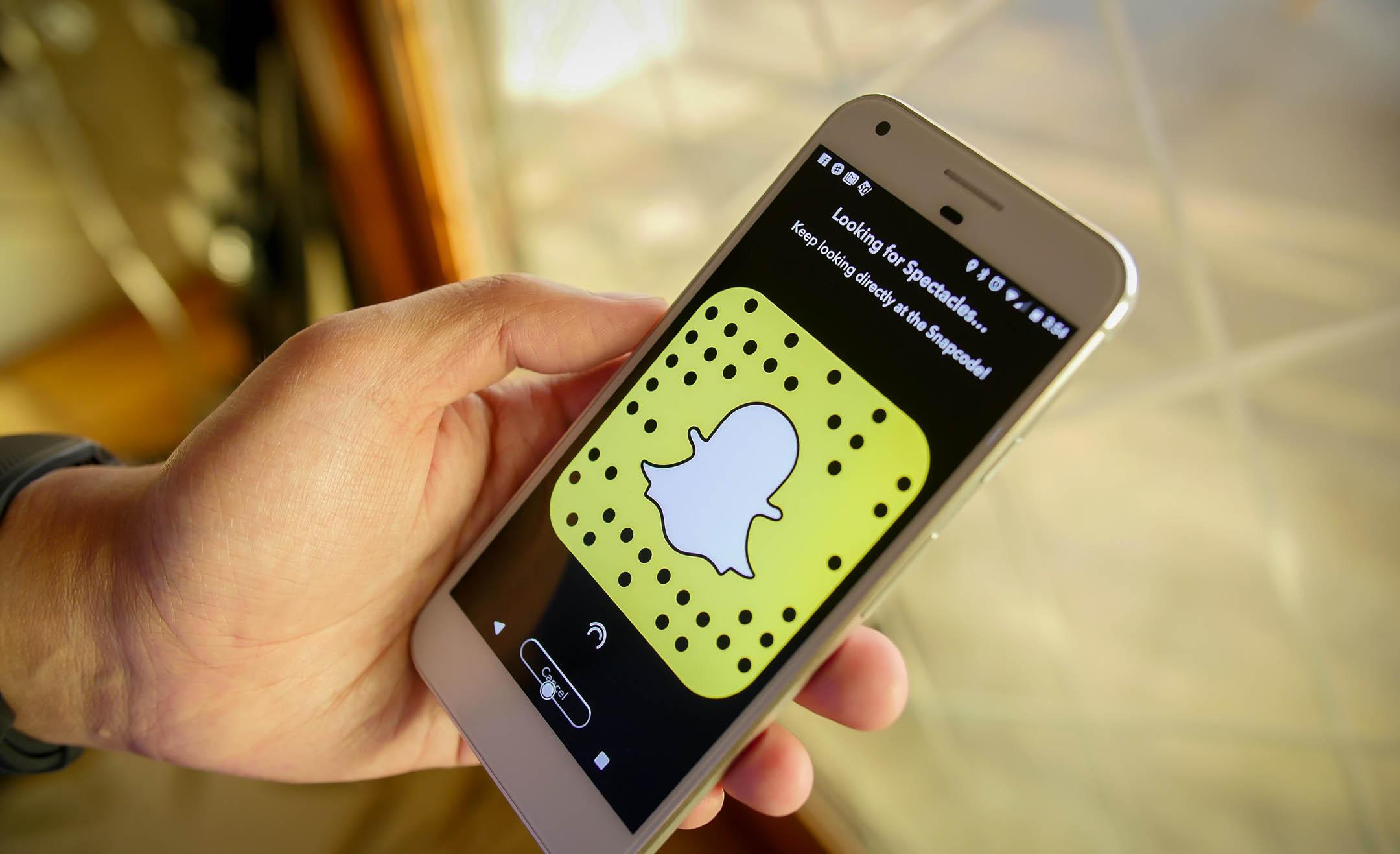 Solucionar fallos Snapchat