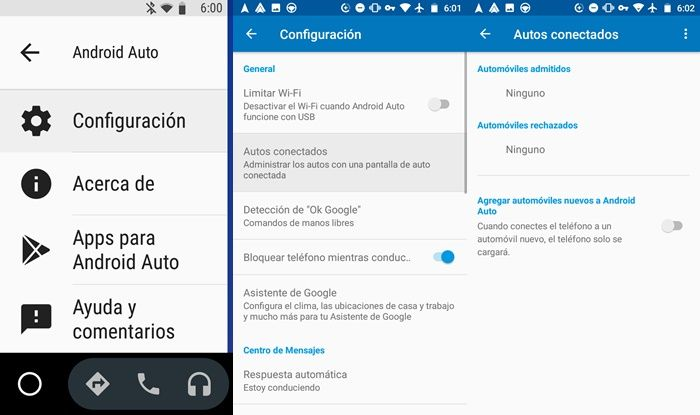 Solucionar problema de Android Auto al conectar con otro coche