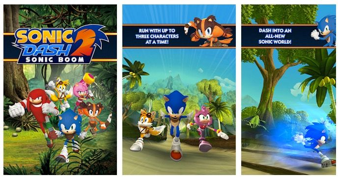 Sonic Dash 2 Sonic Boom Descargar