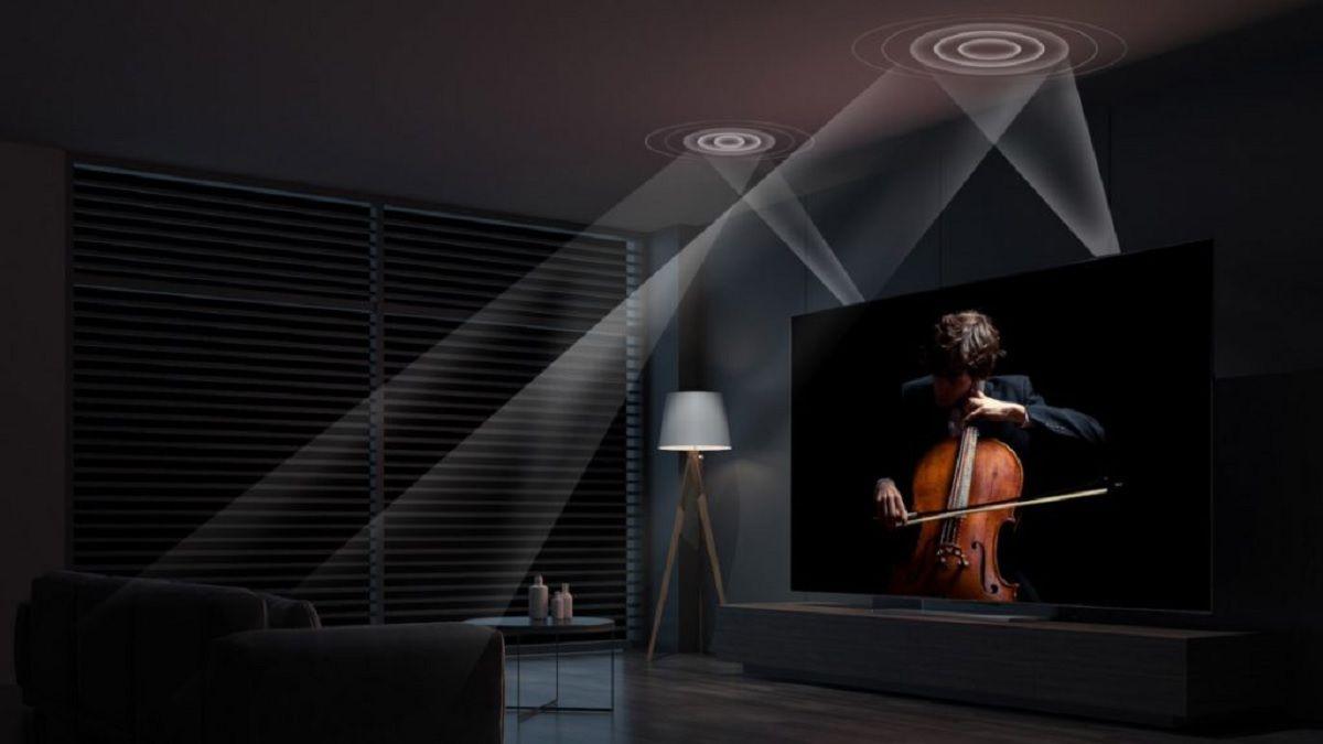 Sonido envolvente gracias a sus altavoces de 65W con Dolby Atmos