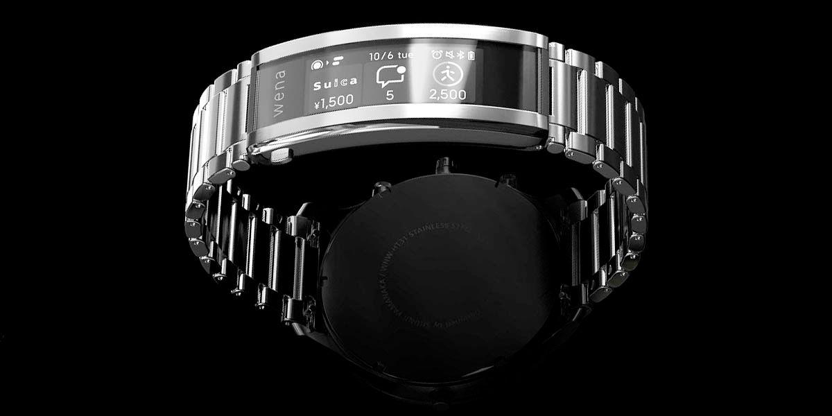 Sony Wena 3 convierte tu reloj en un smartwatch
