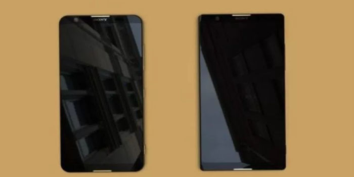 Sony Xperia 2018 Frontal Filtrado