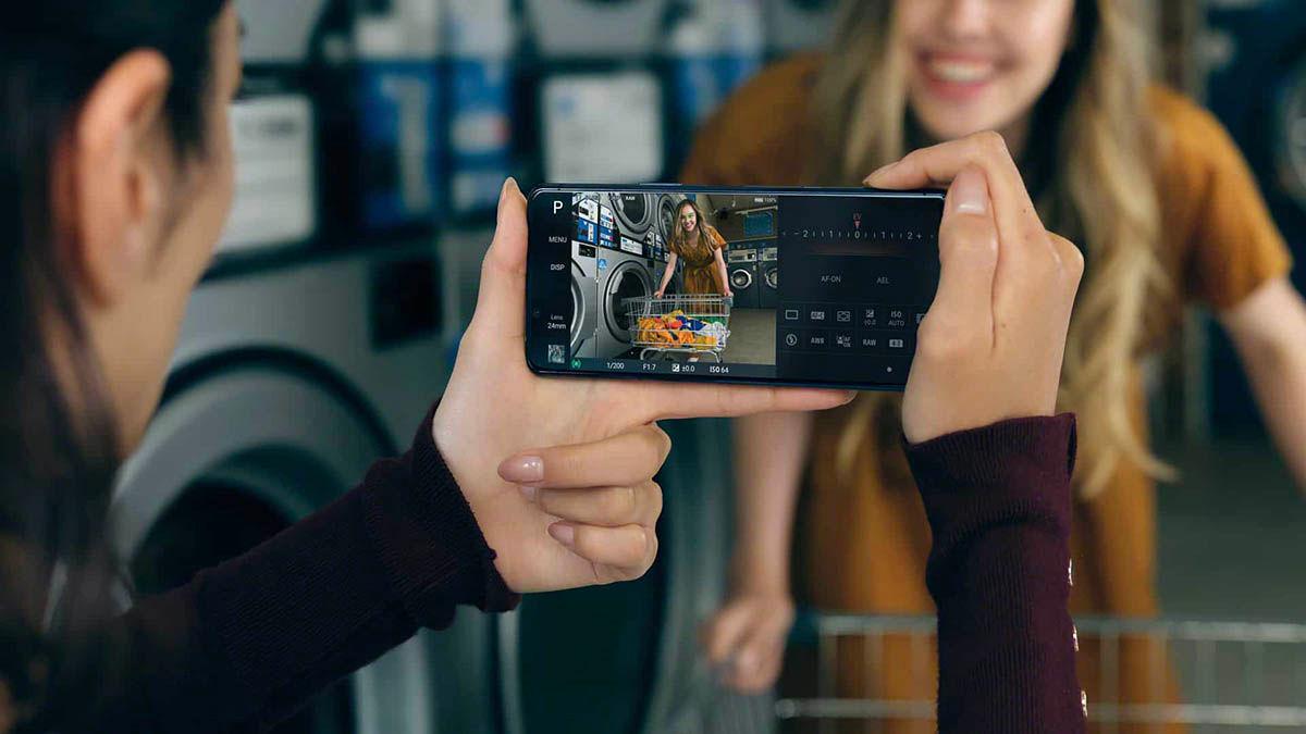 Sony Xperia 5 ll camaras