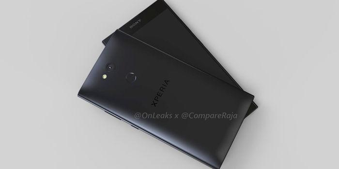 Sony Xperia L2 render 3D filtracion