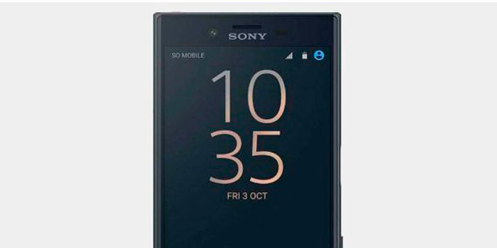 Sony Xperia ZG Compact frontal
