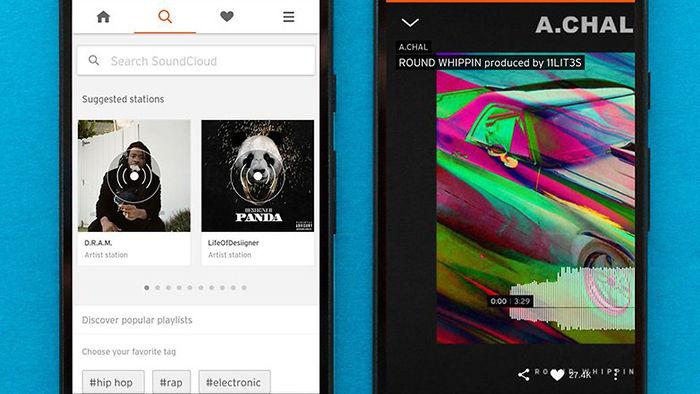 SoundCloud para Android