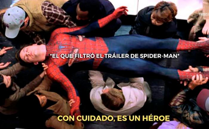 Spider Man No Way Home trailer meme