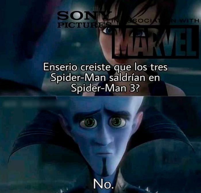 Spider Man meme trailer