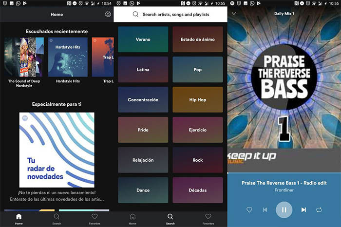 Spotify-Lite-para-android