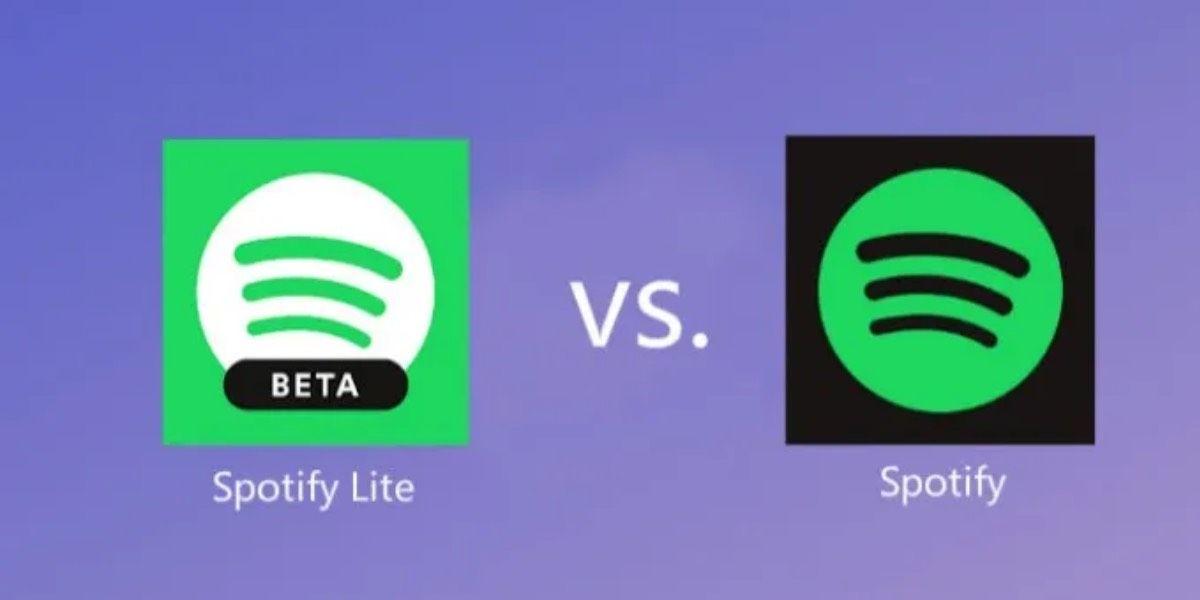 Spotify Lite vs Spotify