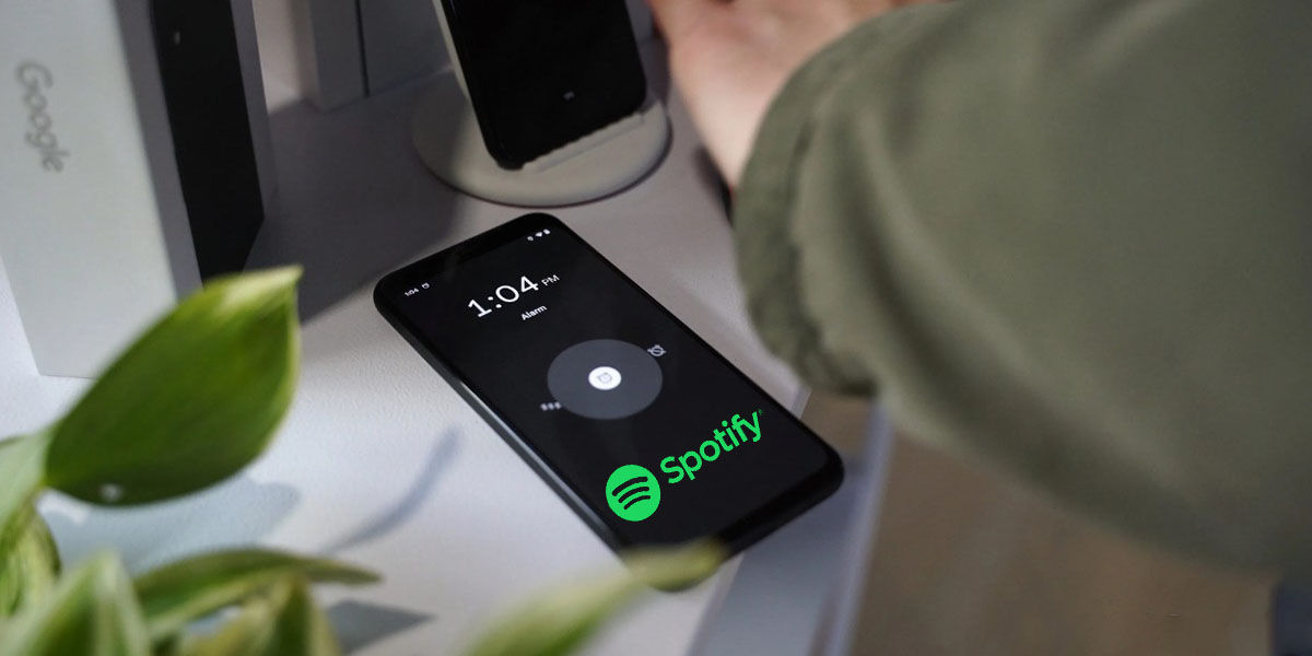 Spotify alarma Android